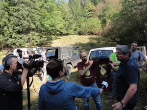 France 3 Alsace reportage collaboration VTT / MBF Club Vosgien marcheurs